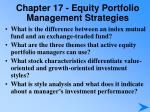 chapter 17 equity portfolio management strategies3