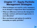 chapter 17 equity portfolio management strategies4