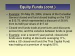 equity funds cont31
