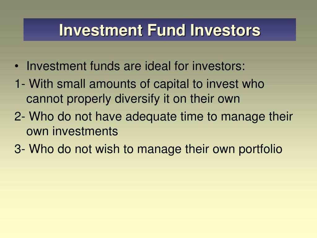 Investment Fund Investors