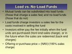 load vs no load funds