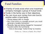 fund families