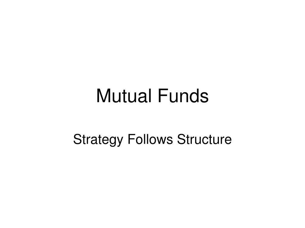 mutual funds l.