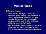 mutual funds36