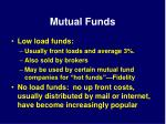 mutual funds38