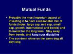 mutual funds40