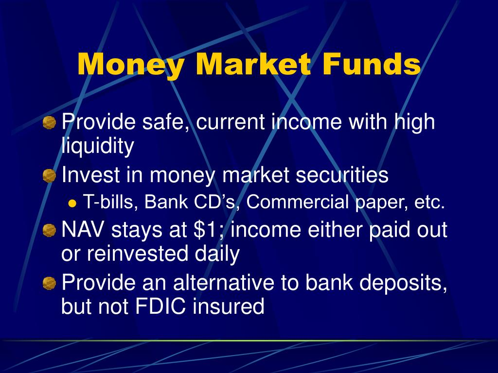 Money Market Funds
