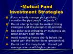 mutual fund investment strategies29