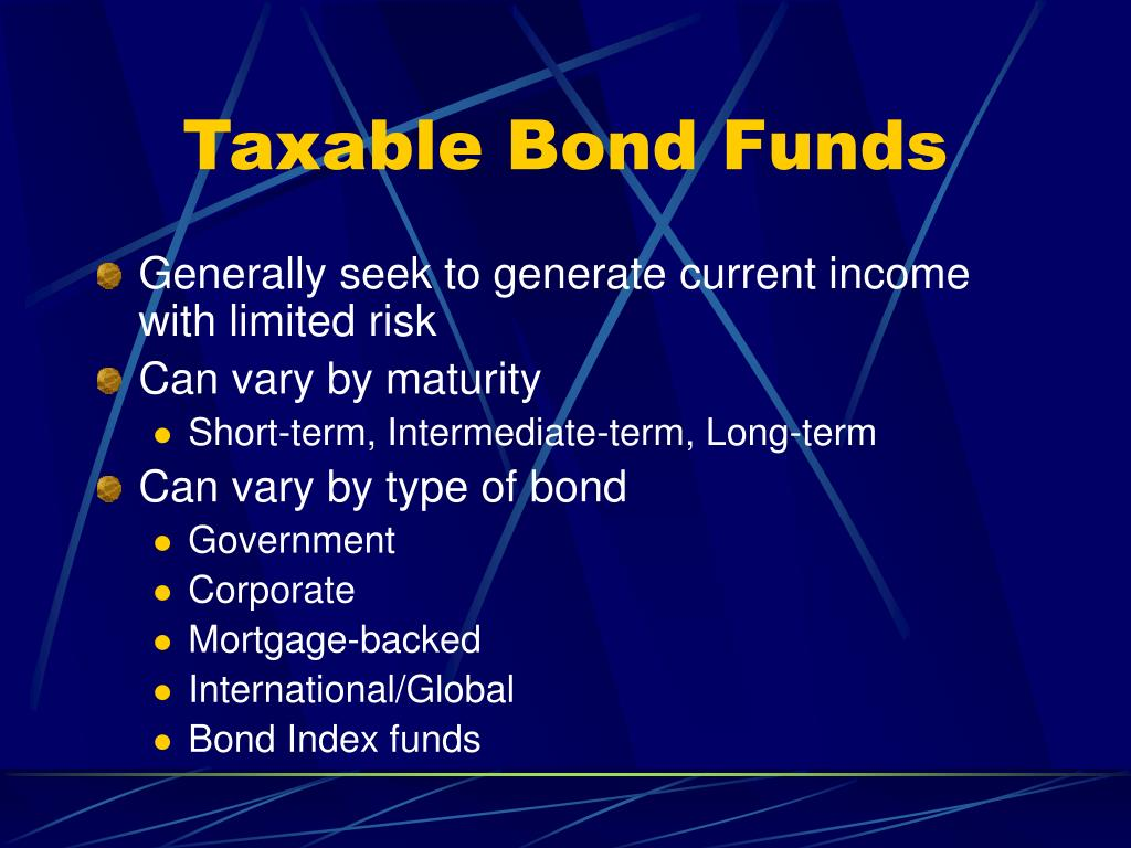 Taxable Bond Funds