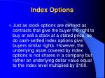 index options