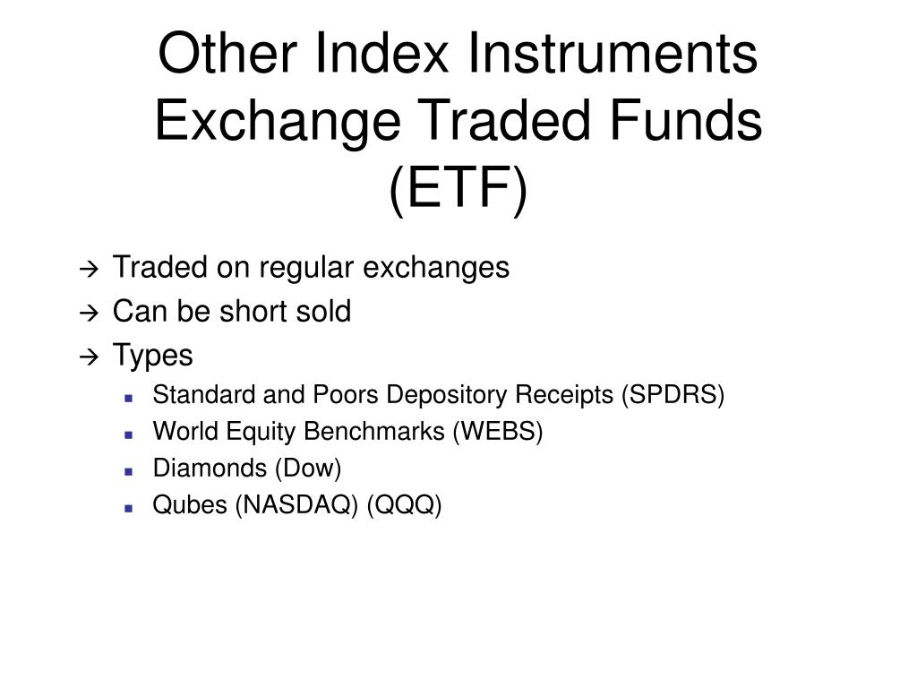 Other Index Instruments