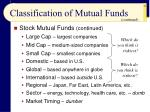 classification of mutual funds25