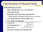 classification of mutual funds26
