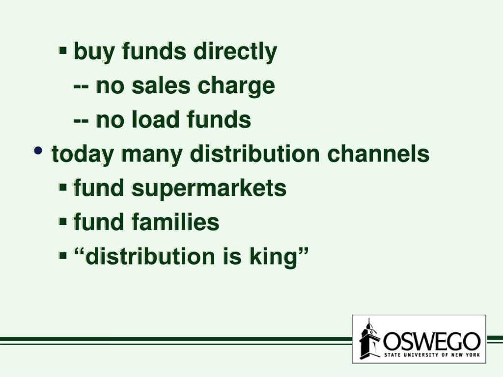 buy funds directly