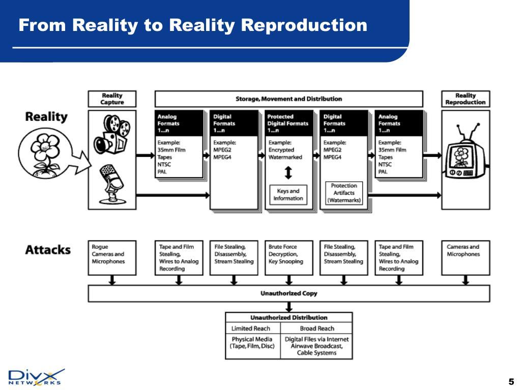 From Reality to Reality Reproduction