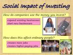 social impact of investing14