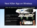 next killer app on wireless