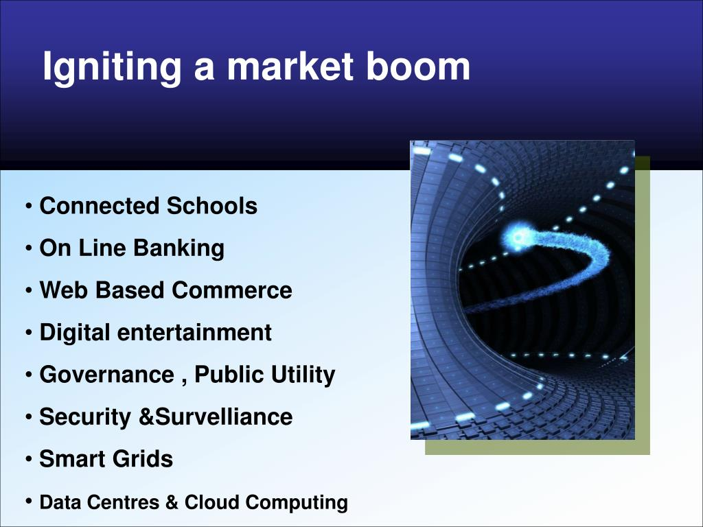 Igniting a market boom