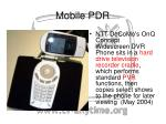 mobile pdr