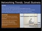 networking trends small business