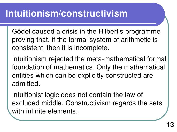 Intuitionism/