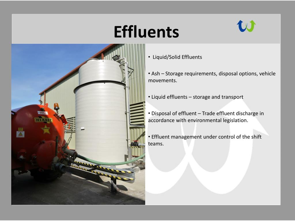 Effluents