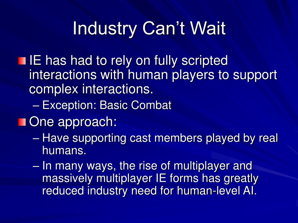 Industry Can't Wait
