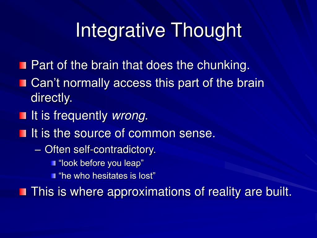 Integrative Thought