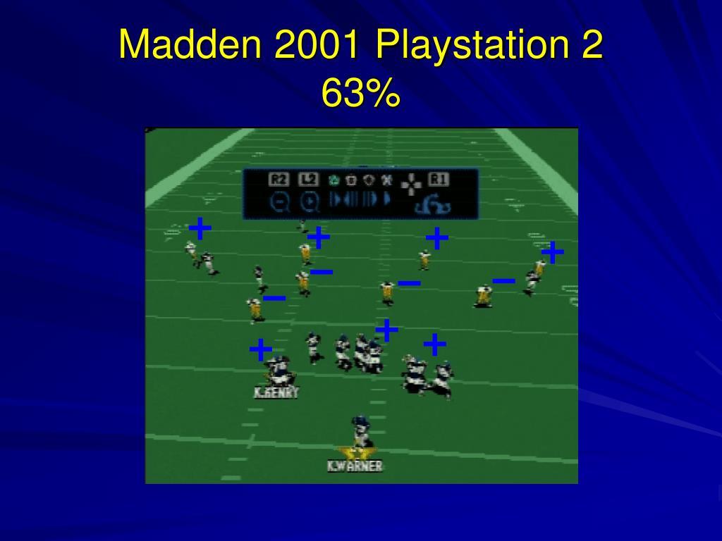 Madden 2001 Playstation 2