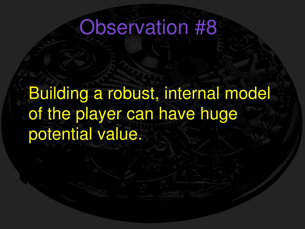 Observation #8