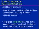clinical research multicenter clinical trial15