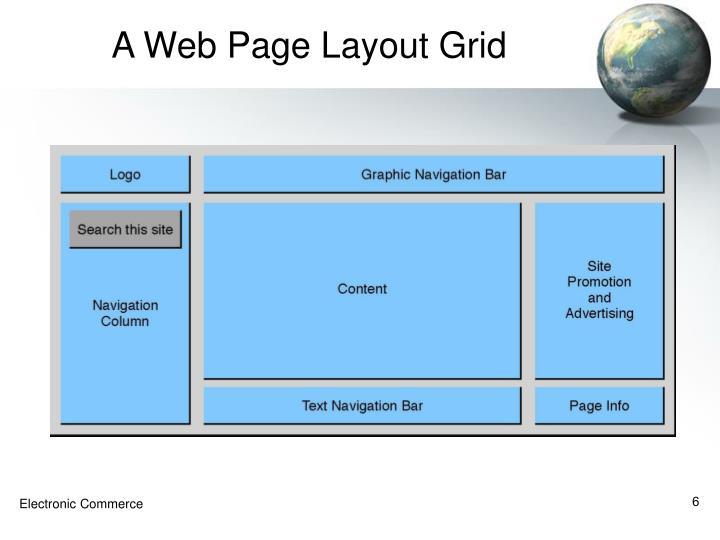 A Web Page Layout Grid