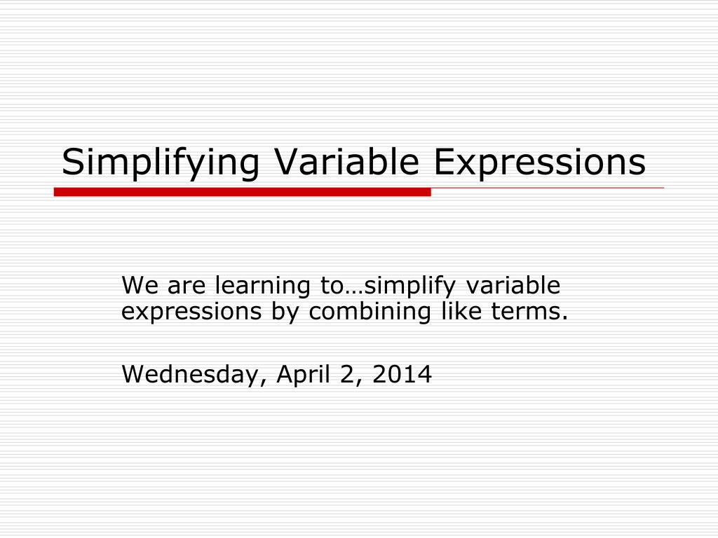What are numerical expressions And expressions with variables Tell me, silly