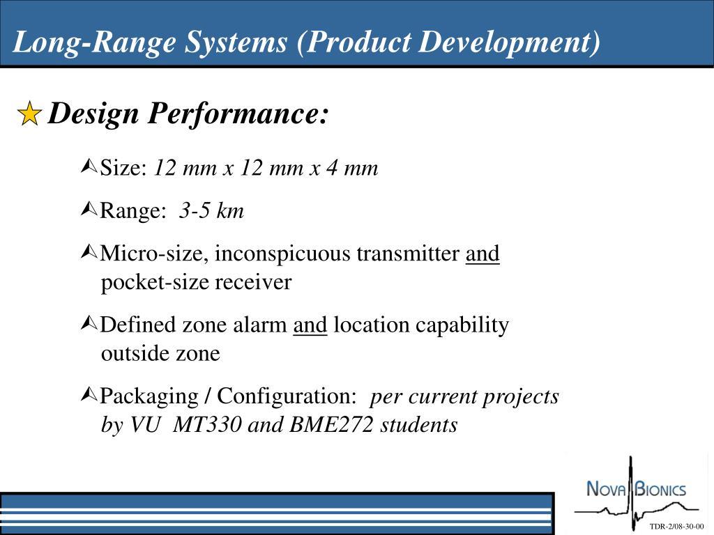 Design Performance: