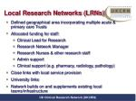 local research networks lrns