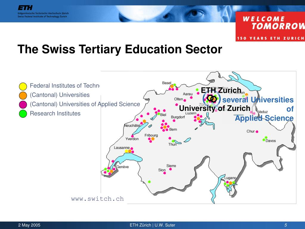 Federal Institutes of Technology (ETH's)