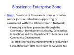 bioscience enterprise zone