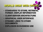 world wide web www
