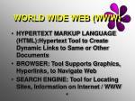 world wide web www1