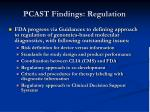 pcast findings regulation
