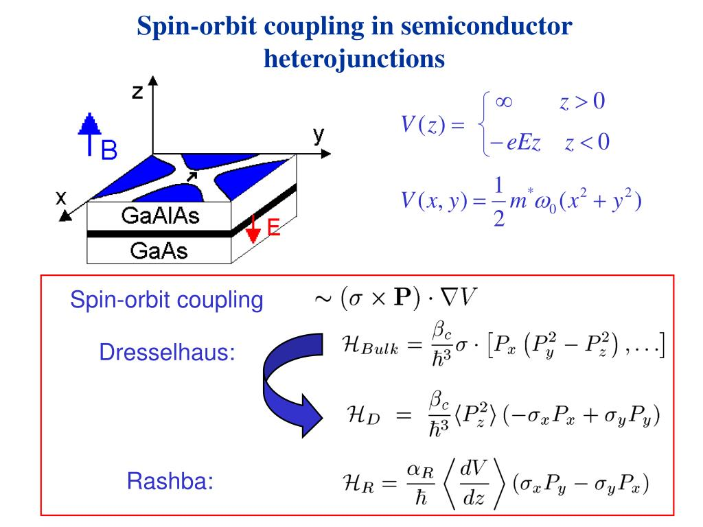 Spin-orbit coupling in semiconductor heterojunctions