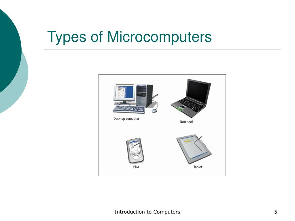 Types of Microcomputers