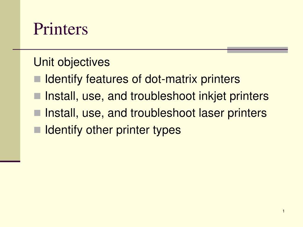 printers l.