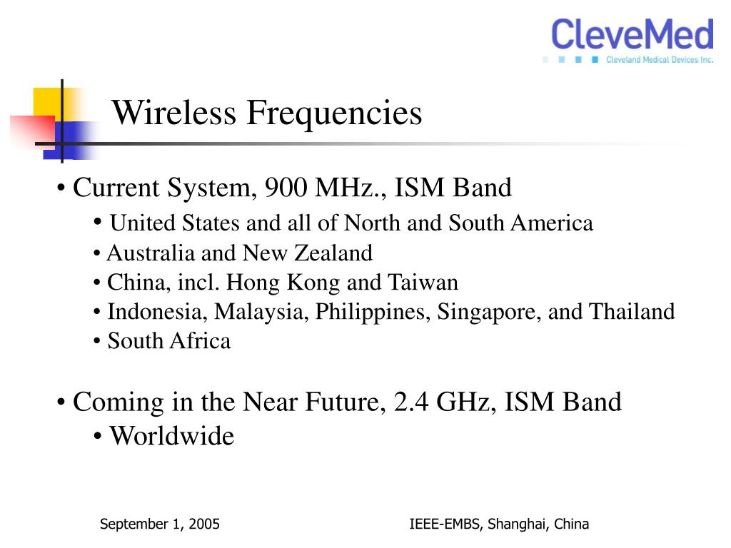 Wireless Frequencies