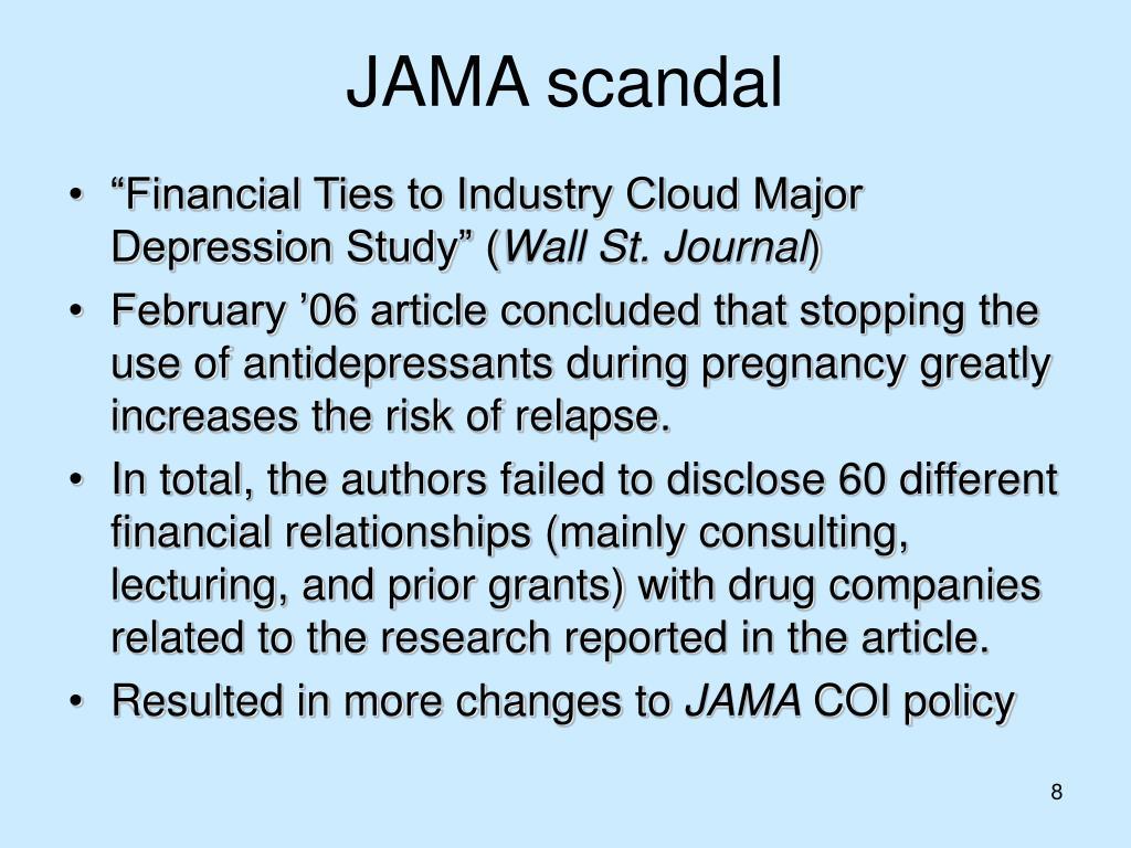 JAMA scandal
