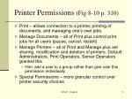 printer permissions fig 8 10 p 310