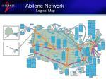 abilene network logical map