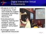 digital interactive virtual environments