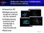 molecular interactive collaborative environment mice