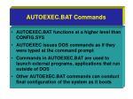 autoexec bat commands